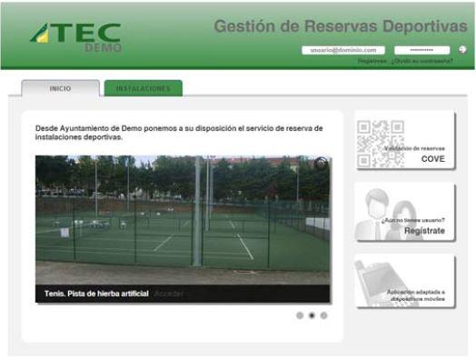 Captura Reservas Deportivas